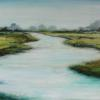 Streamside III Acrylic on Canvas 20x40