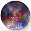 "Caelestis XVIII Acrylic on Steel 24"" Round SOLD"