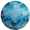 "Caelestis LIV Acrylic on Steel 24"" Round"